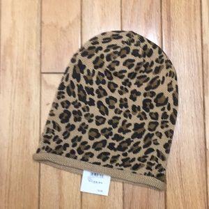 NWT BP leopard Print Slouchy Beanie
